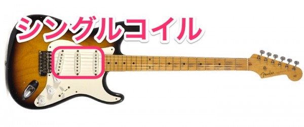 エレキギター ピックアップ