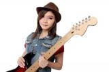 エレキギター 女の子