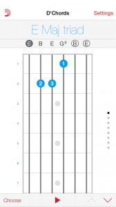 DAddario chords アプリ