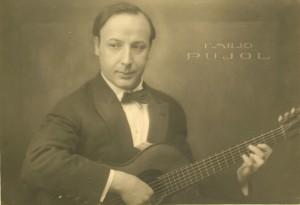 エミリオ・プジョル,Emilio Pujol,クラシックギター