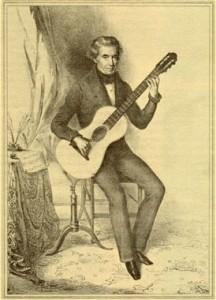 Dionisio Aguado,ディオニシオ・アグアド,クラシックギター