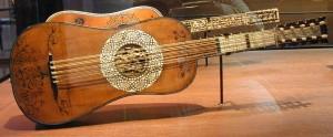 バロックギター,楽器