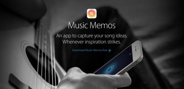 Music Memos,ミュージックメモ,Apple,アプリ