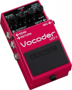 BOSS,VO-1,Vocoder,エフェクター