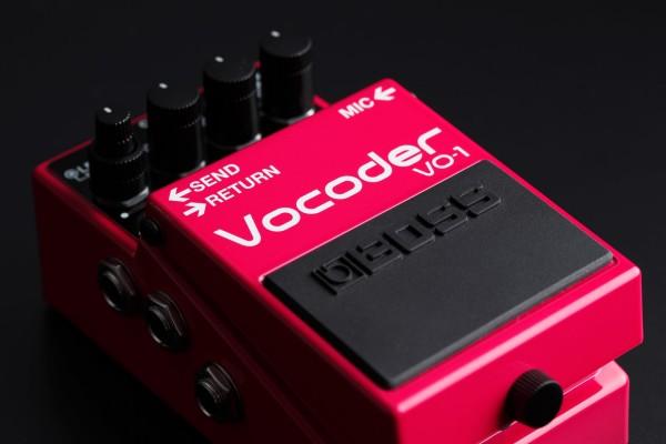 BOSS,VO-1,Vocoder,ボコーダー