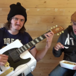 電子レンジ,ギター,エレキギター