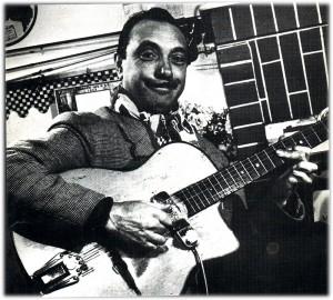 ジャンゴ・ラインハルト ジャズ ギター