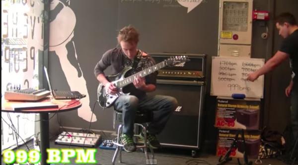 BPM999ギター速弾き