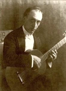 ミゲル・リョベート,Miguel Llobet,クラシックギター