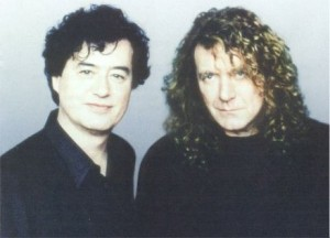 Jimmy Page,Robert Plant