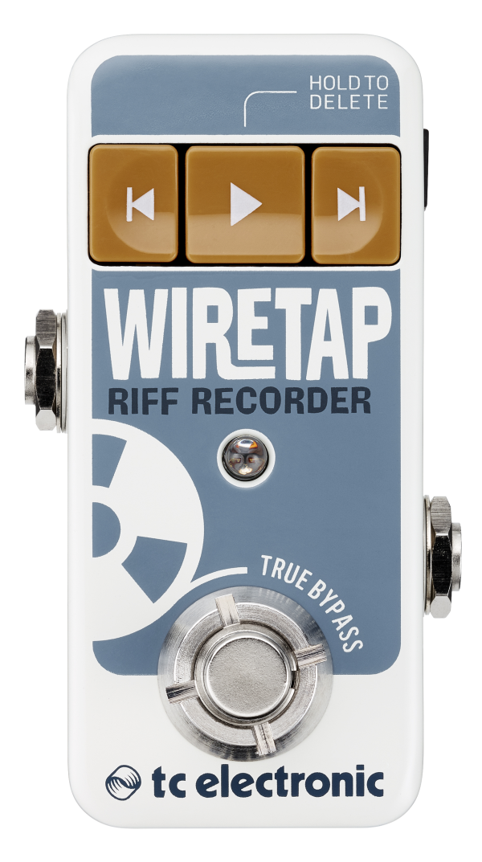 tc electronic,WireTap Riff Recorder,レコーダー,エフェクター